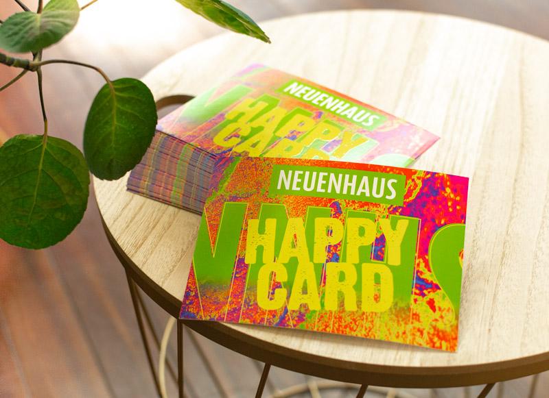 Stadt Gutschein Happy Card für Neuenhaus und Umgebung